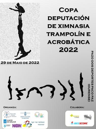 COPA DEPUTACIÓN DE XIMNASIA TRAMPOLÍN E ACROBÁTICA 2021